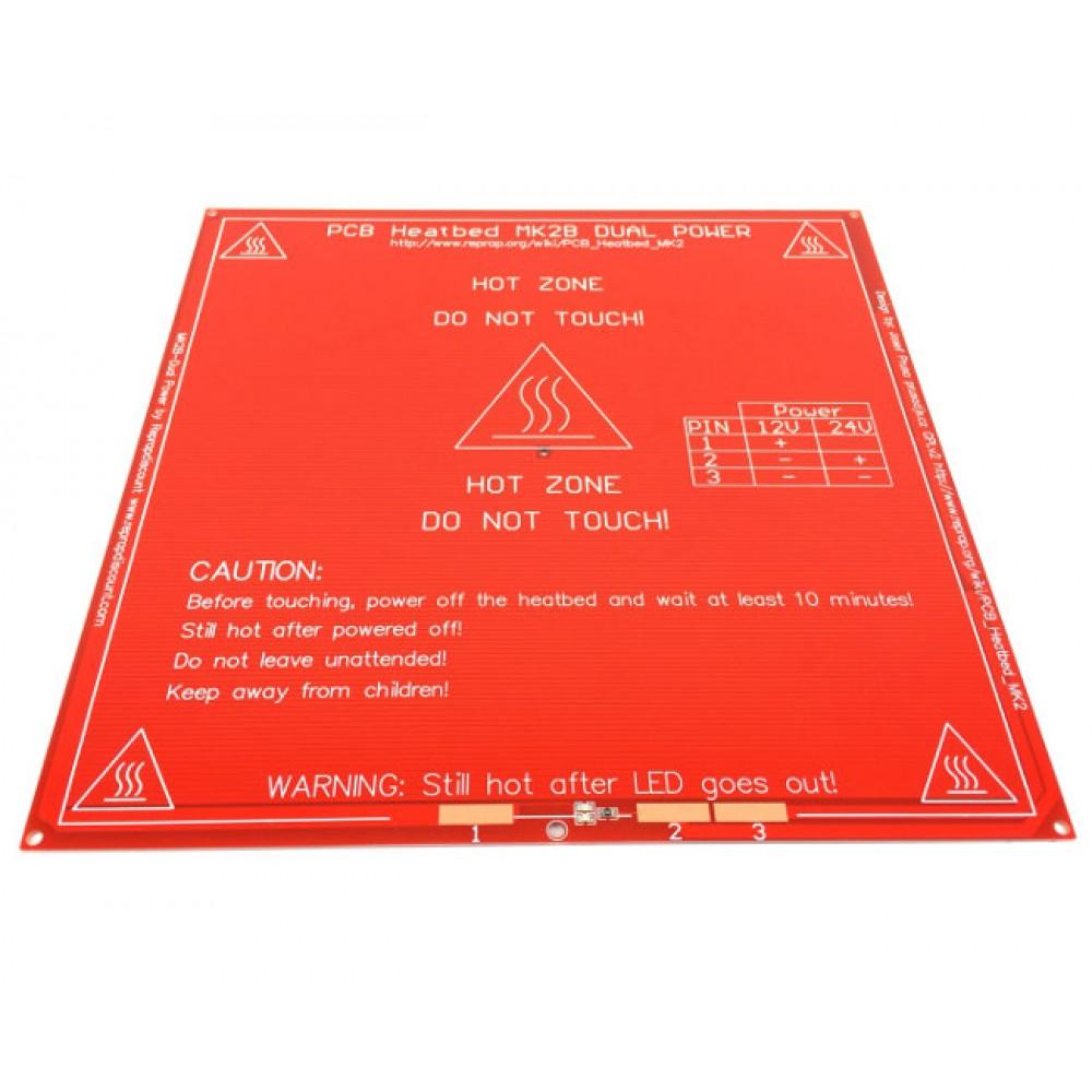 هیت بد(PCB Heated Bed) مدل MK2B قرمز