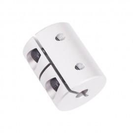 کوپلینگ سخت 5 به 8 Rigid clamping coupling 5x8x25mm